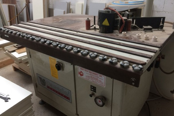Casadei Industria Shaped Edgebander