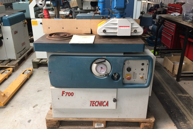 Tecnica F700 Spindle Moulder - featured